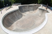 Bowl at Bowie skatepark