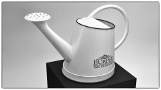 Image of Burpee Pot 3D Perspective black and white render