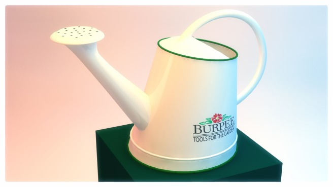 Image of Burpee Pot 3D Perspective stylized render
