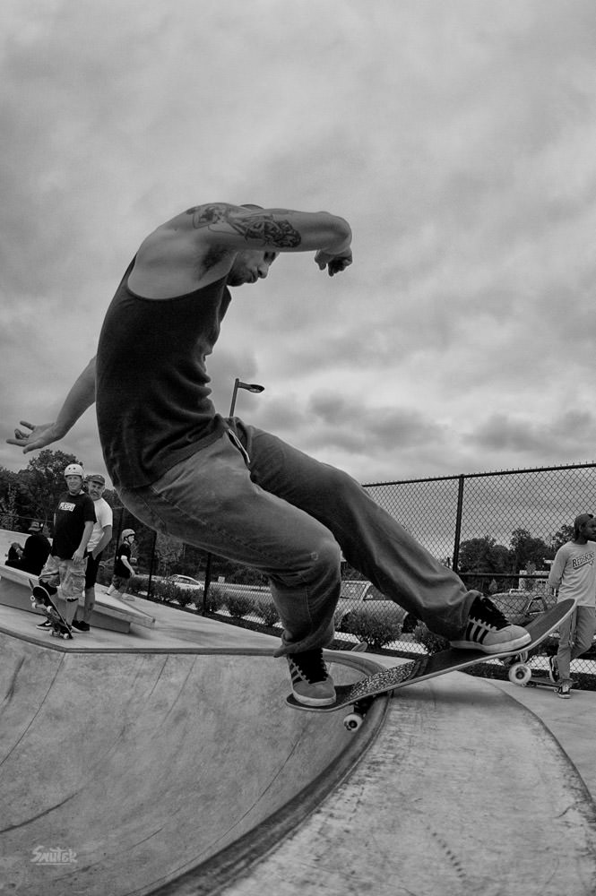 Laurel skatepark session May 2012