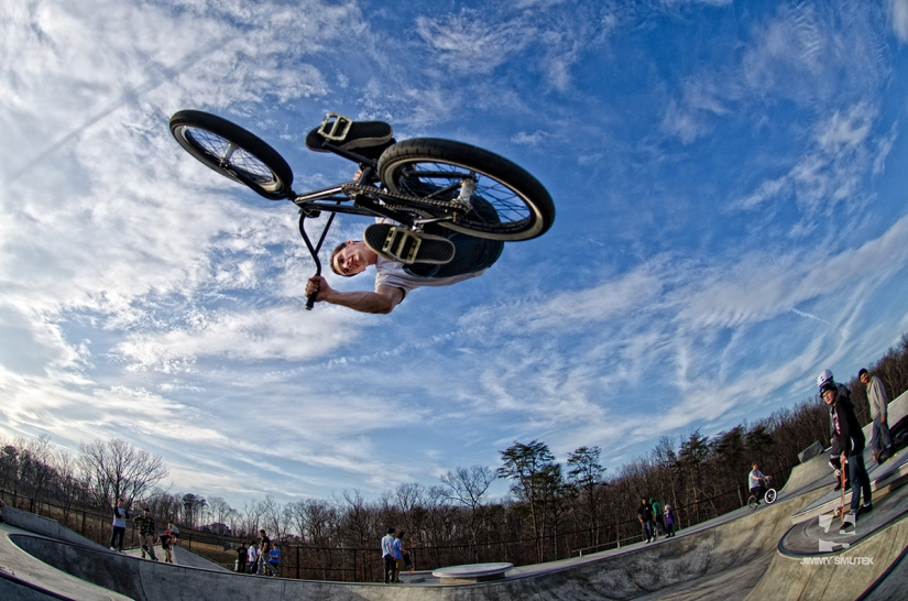 Laurel Skatepark- BMX Photos