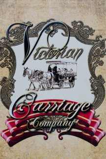 Victorian Carriage Company signage