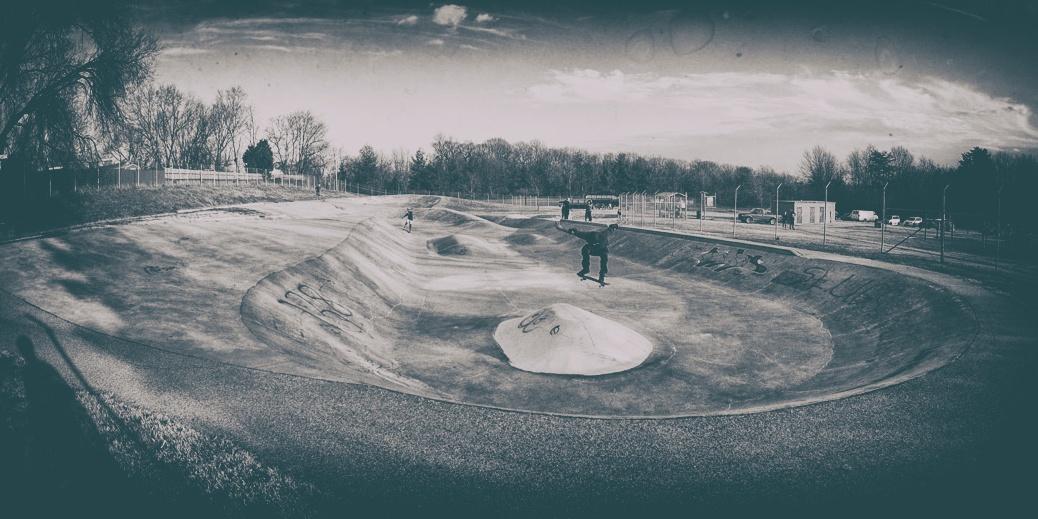 Lansdowne Skateboard Park photo by Jimmy Smutek