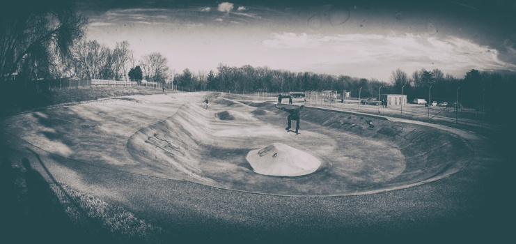Lansdowne Skateboard Park photo by Jimmy Smutek