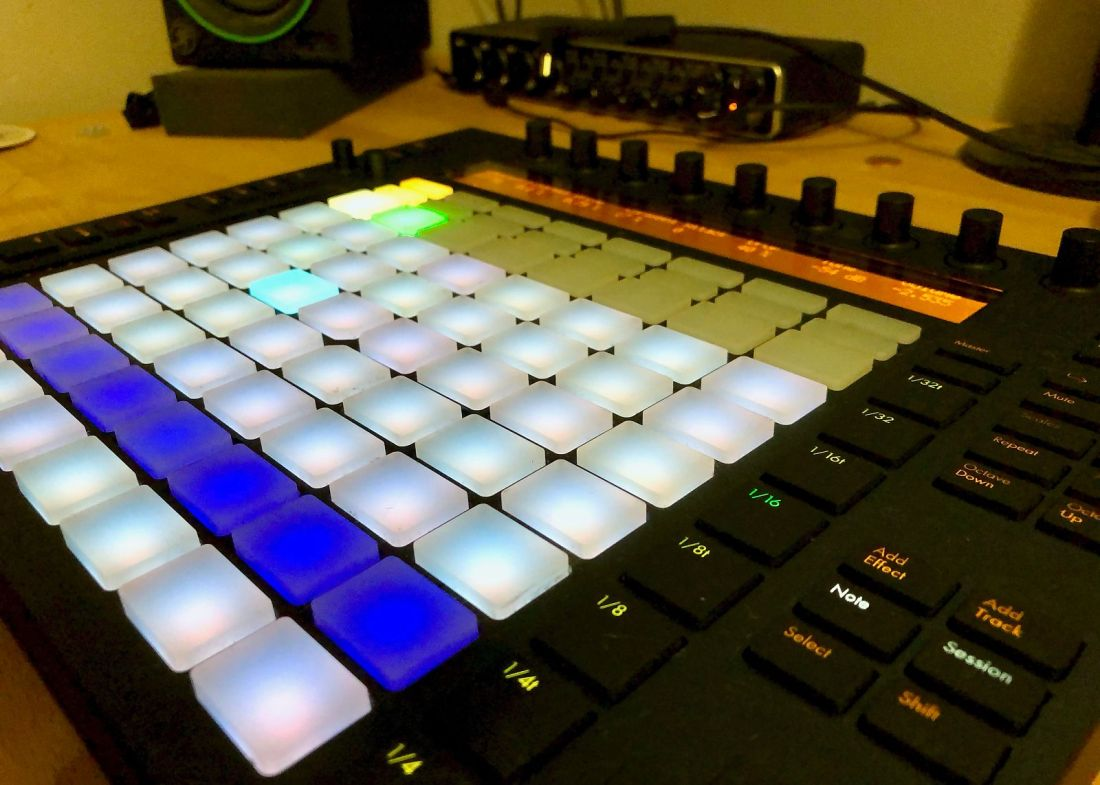 Image of Ableton Push controller